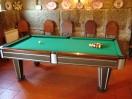 salão de jogos e bar, partilhados