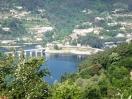 vista da casa p/ a barragem